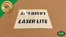 1982 - 1985 Kuwahara Laserlite BMX Top Tube Decal Sticker (Black)