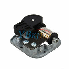 Wind Up Musical Movements Parts With Screws Winder Edelweiss Music Box DIY HighQ
