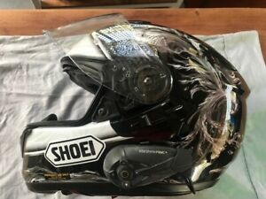 """Shoei """"Revive"""" Helmet Sz XL with bluetooth - excellent used condition"""