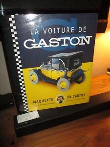 Aroutcheff-Gaston Lagaffe La voiture de Gaston, maquette en carton-Neuve