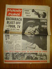 MELODY MAKER 1965 JUN 5 SANDIE SHAW BOB DYLAN ANIMALS