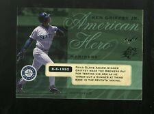 2008 SPx Baseball Ken Griffey Jr. HOF Mariners 1/1