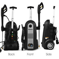 2800PSI Electric High Pressure Washer Home Cleaner 1.96GPM 2500W w/ 4 Nozzles