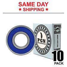 6001-2RS C3 EMQ Premium Rubber Sealed Ball Bearing, 12x28x8, 6001rs (10 QTY)