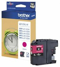 Original Brother LC125XL-M magenta DCP-J4110DW MFC-J4110DW J4510DW OVP 01/2019