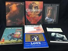 Lotto 7 libri inglesi vintage di foto di nudo artistiche