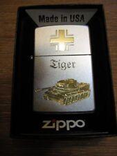 Zippo Tigerpanzer Balkenkreuz Tiger Jagdpanzer EK WH WK2 WWII Iron Cross Tank