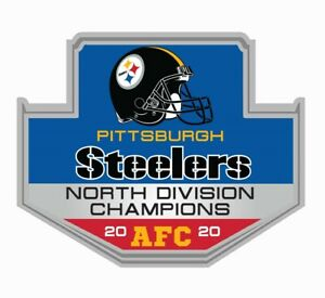 PITTSBURGH STEELERS 2020 NORTH DIVISION CHAMPION AFC PIN SUPERBOWL SUPER BOWL 55