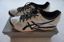 Asics Gel Tactic B554N-0190 White/Black/Silver volleyball womens shoes 14