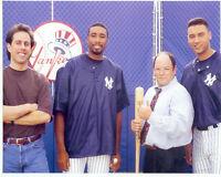 NEW YORK YANKEES  8X10 TEAM PHOTO SEINFELD WILLIAMS COSTANZA JETER TV BASEBALL