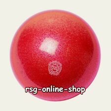 RSG WETTKAMPFBALL Gymnastikball JUNIOR 16cm NEW QUALITY Galaxy rot TECHNO RUBBER