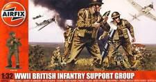 Airfix - 17 Soldados British Infantería Support Grupo británico - 1:32