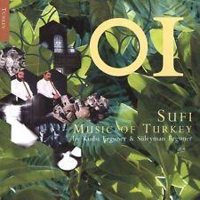 Sufi Music of Turkey by Kudsi Erguner/Suleyman Erguner (CD, Aug-2000, Times Squa