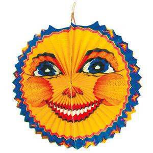 Mond Kinder Laterne LAMPION rund 25cm