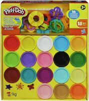 Play-Doh Super Kit 18 TOY different Colour Kit kids Creative Toy Birthday Gift