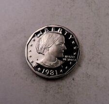 1981-S *Type 2* Susan B Anthony Dollar (SBA) // Gem Proof DCAM.