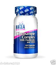 VITAMINA HAYA Labs Glucosamine Chondroitin & MSM Complex 120 tab Glucosamina