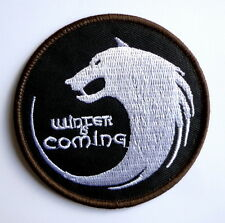 b0a259dd756 Game of Thrones House of Stark WINTER IS COMING Military Morale Iron-On  PATCH 3