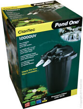 Claritec10000UV Pressurised Pond Filter KOI Carp Goldfish Ornamental Sterilising