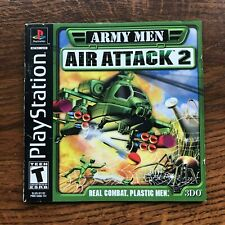 Army Men Air Attack 2 II PS1 Playstation 1 PS One Instruction Manual Only