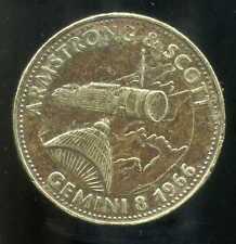 jeton SHELL  GEMINI 8   1966  ARMSTRONG & SCOTT