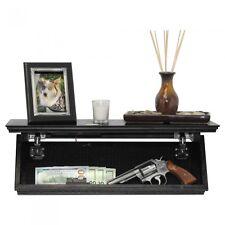 Quick Shelf Hidden Safe RFID Locking System Gun Cash Jewelry Storage-Black