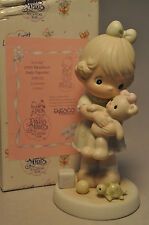 Precious Moments : Loving - Pm932 - Members Only Figurine - Girl with Teddy