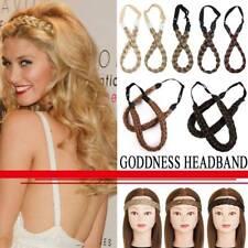 AU New Arrival Chunky Braid Headband Stranded Hair Extensions Plait Hair Bands