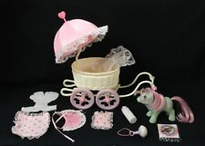 Hasbro Vintage G1 MLP My Little Pony Baby Buggy & Baby Cuddles