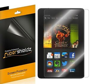 """3X Supershieldz Clear Screen Protector Shield for Amazon Kindle Fire HDX 8.9"""""""