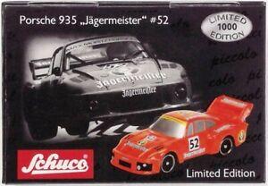 Schuco Piccolo Porsche 935 #52 Jägermeister Art. 05475 TOP