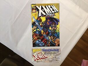 X-Men #1/2 Wizard special edition w/COA, 1998 Marvel Comics High Grade 🔥NM🔥