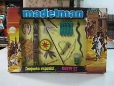 VINTAGE 70'S MADELMAN CONJUNTO ESPECIAL OESTE II REF:603 EN EXCELENTE ESTADO!!