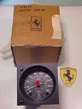 Ferrari 400GT Speedometer Gauge_Veglia_MPH KM_119218_Wiring Harness_NEW_OEM