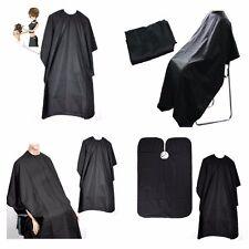 BLACK HAIRDRESSING HAIR CUTTING CAPE BARBER HAIRDRESSER SALON EQUIPMENT GOWN
