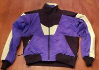 VINTAGE Men's Cannondale Cycling Coat Jacket BRIGHT 90s Retro Colors USA Medium
