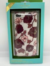 KATE SPADE iPhone 6 Plus, 6s Plus, 7 Plus, 8 Plus ~ CASE Clear with Flowers ~New