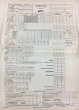 Vintage Trane Air Conditioning 1979 Cooling and Heating Load Estimate Sheets