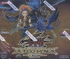 Yu-Gi-Oh Duelist Pack Crow 1st Edition Booster Box