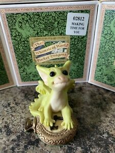 """*Rare* Collectors Club """"Making Time For You"""" Pocket Dragon Mint in original box"""