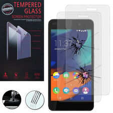 2X Safety Glass for Wiko Rainbow up / up 0.1oz Genuine Glass Screen Protector