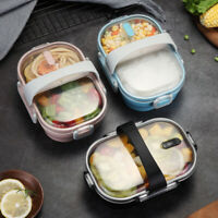 Stainless Steel Lunch Box Kids Bento Leakproof Food Container  Lunchbox Supply