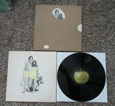 Beatles VINTAGE 1968 JOHN LENNON ' TWO VIRGINS ' LP IN GREAT SHAPE WITH BAG