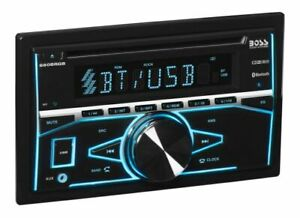 Boss 660BRGB Double DIN Bluetooth In-Dash CD SD USB Player Car Stereo Receiver