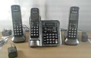Panasonic DECT 6.0 Bluetooth KX-TG7641 M Answering System w/ Handsets