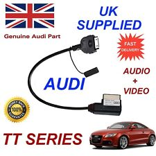 Genuine Audi TT 4F0051510R iPhone 4s some iPods Audio & Video art work Cable red