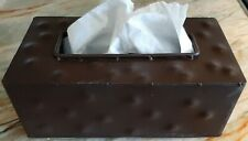 Handmade Tissue Box -  Metal Kleenex Box
