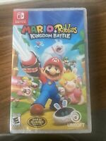 Mario + Rabbids Kingdom Battle (Nintendo Switch, 2017) NEW SEALED