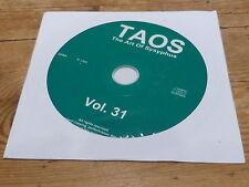 VARIOUS - TAOS - THE ART OF SYSYPHUS !!!!!!!!!! !!!RARE CD PROMO!!!!