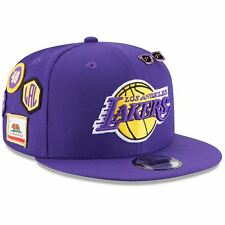 Los Angeles Lakers Hat Adj Men's 2018 NBA Draft Hat 9FIFTY Snapback New Era NBA